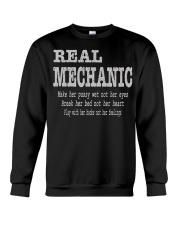 I am A Real Man Crewneck Sweatshirt thumbnail