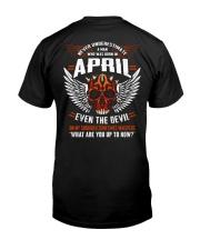 APRIL - EVEN THE DEVIL Classic T-Shirt thumbnail