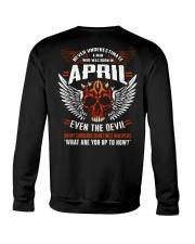 APRIL - EVEN THE DEVIL Crewneck Sweatshirt thumbnail