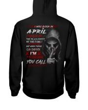 APRIL - YOUCALL Hooded Sweatshirt back