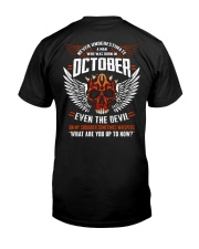 OCTOBER - EVEN THE DEVIL Classic T-Shirt tile