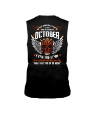 OCTOBER - EVEN THE DEVIL Sleeveless Tee thumbnail