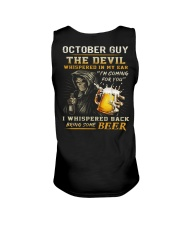 OCTOBER - THE DEVIL BEER Unisex Tank thumbnail