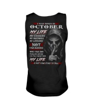 OCTOBER - MY LIFE Unisex Tank tile