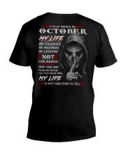 OCTOBER - MY LIFE V-Neck T-Shirt thumbnail