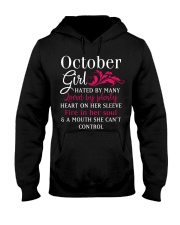 She Can't not Control Hooded Sweatshirt front