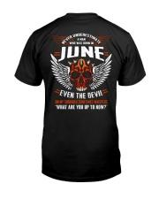 JUNE - EVEN THE DEVIL Classic T-Shirt thumbnail