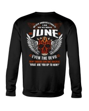JUNE - EVEN THE DEVIL Crewneck Sweatshirt thumbnail