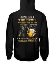 JUNE - THE DEVIL BEER Hooded Sweatshirt back