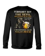 FEBRUARY - THE DEVIL BEER Crewneck Sweatshirt thumbnail