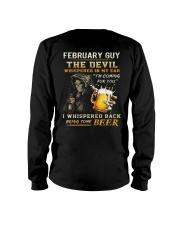 FEBRUARY - THE DEVIL BEER Long Sleeve Tee thumbnail