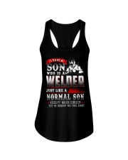 I am A welder 4 Ladies Flowy Tank thumbnail