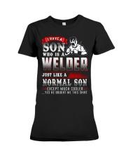 I am A welder 4 Premium Fit Ladies Tee thumbnail