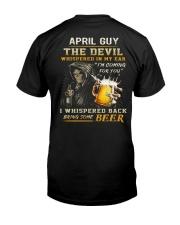 APRIL - THE DEVIL BEER Classic T-Shirt thumbnail