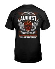 AUGUST - EVEN THE DEVIL Classic T-Shirt thumbnail
