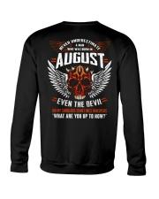 AUGUST - EVEN THE DEVIL Crewneck Sweatshirt thumbnail