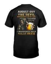 AUGUST - THE DEVIL BEER Premium Fit Mens Tee thumbnail