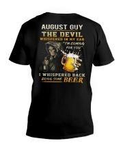AUGUST - THE DEVIL BEER V-Neck T-Shirt thumbnail