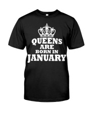 Birthday -January Birthday -January Birthday Shirt Classic T-Shirt front