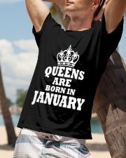 Birthday -January Birthday -January Birthday Shirt Classic T-Shirt lifestyle-mens-crewneck-front-9