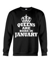 Birthday -January Birthday -January Birthday Shirt Crewneck Sweatshirt thumbnail
