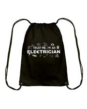 Electrician -Best Electrician Tee - Electrician Drawstring Bag thumbnail