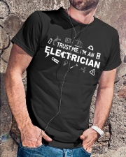 Electrician -Best Electrician Tee - Electrician Classic T-Shirt lifestyle-mens-crewneck-front-4