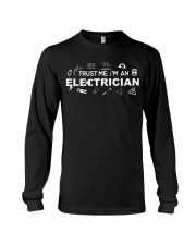 Electrician -Best Electrician Tee - Electrician Long Sleeve Tee thumbnail