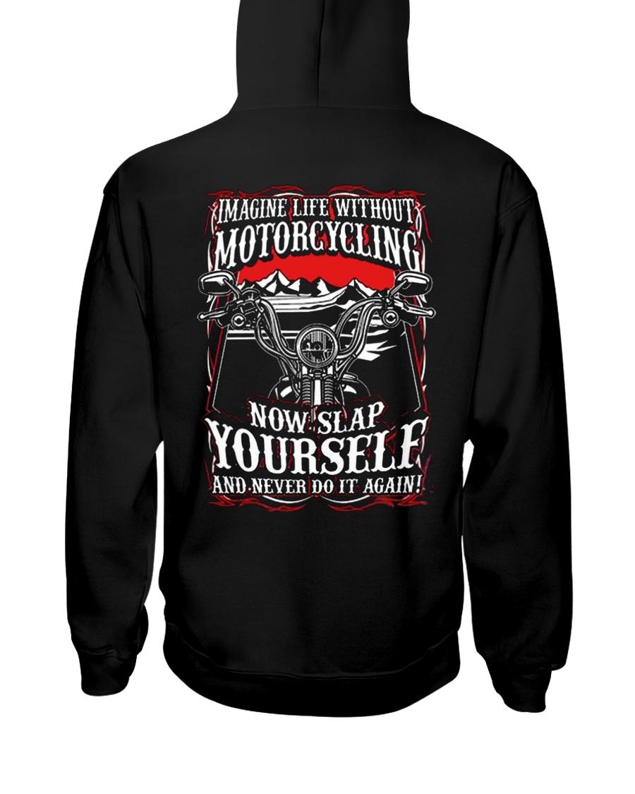 BIKER BIKER BIKER BIKER BIKER Hooded Sweatshirt