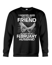 Birthday -February Birthday -February Birthday tee Crewneck Sweatshirt thumbnail