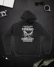 Birthday -February Birthday -February Birthday tee Hooded Sweatshirt lifestyle-unisex-hoodie-front-9