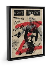 Basketball player 11x14 Black Floating Framed Canvas Prints thumbnail