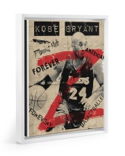 Basketball player 11x14 White Floating Framed Canvas Prints thumbnail