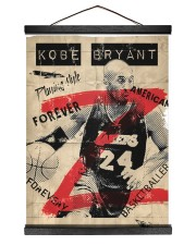 Basketball player 12x16 Black Hanging Canvas thumbnail
