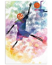 Basketball can play all haloween day 11x17 Poster thumbnail