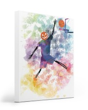 Basketball can play all haloween day 16x20 Gallery Wrapped Canvas Prints front
