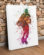 Basketball player 16x20 Gallery Wrapped Canvas Prints aos-canvas-pgw-16x20-lifestyle-front-18