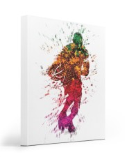 Basketball player 16x20 Gallery Wrapped Canvas Prints front
