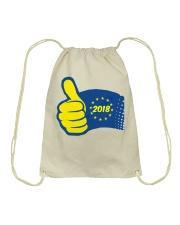 eu2018 drawstring bag Drawstring Bag front
