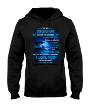 Meeting You Was Fate Family Wife Hooded Sweatshirt thumbnail
