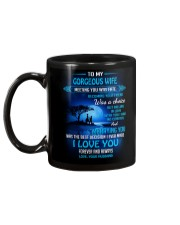Meeting You Was Fate Family Wife Mug back