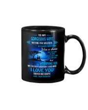 Meeting You Was Fate Family Wife Mug front