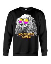 Cocker Spaniel No Fluffs Funny Shirt Crewneck Sweatshirt thumbnail