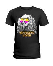 Cocker Spaniel No Fluffs Funny Shirt Ladies T-Shirt thumbnail
