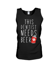 Dentist Needs A Beer Dentistry Dental H Unisex Tank thumbnail