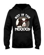 Dairy Farmer Not In The Mood Cow Appreciat Hooded Sweatshirt thumbnail