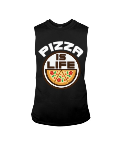 PIZZA Is Life T Shirt Funny Pizza Shirt