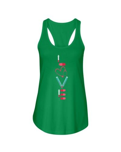 Nurse Shirt RN LPN Doctor LOVE Nursing Medical Tee