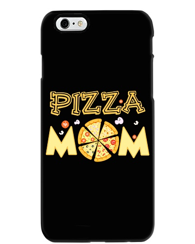 Pizza Mom Lovers Italian Food Funny Pizza T-shirt
