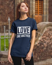 LOVE ONE ANOTHER  Classic T-Shirt apparel-classic-tshirt-lifestyle-06